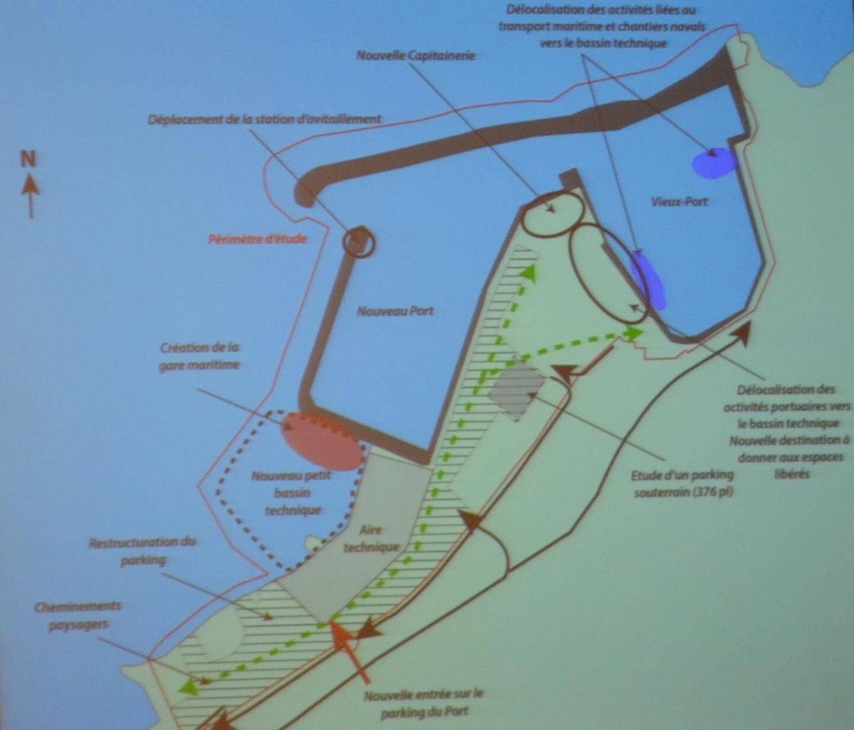 Le projet de réaménagement présenté le 4 avril dernier.