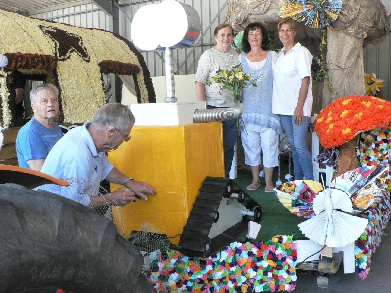 Une première pour la présidente Ghislaine Rebollo (au centre) et les membres du Lions-Club Pierre de la Fée.