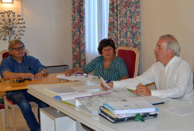 Des affaires courantes pour ce conseil municipal présidé par le premier magistrat Pierre Bornet.