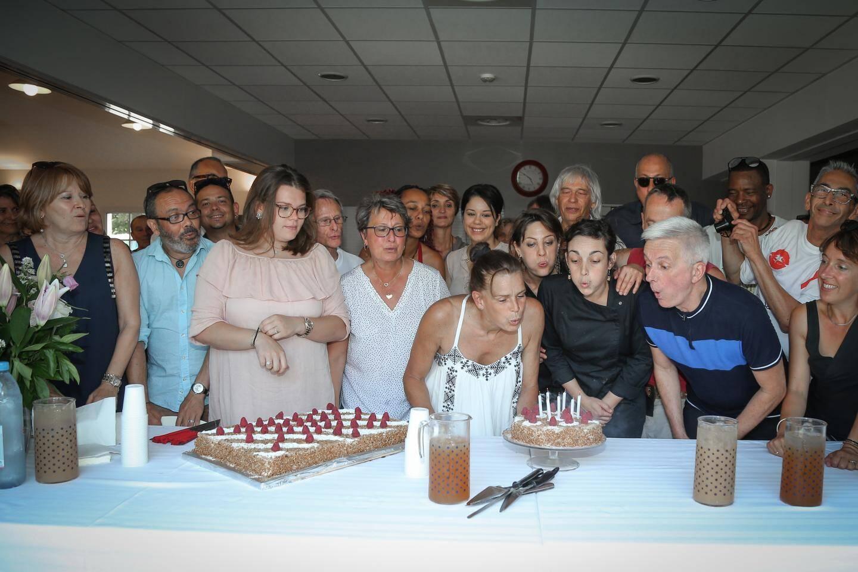 Autour de l'équipe et des résidents actuels de l'établissement, la princesse Stéphanie a célébré la date anniversaire de cette maison qui depuis sept ans ne désemplit pas.