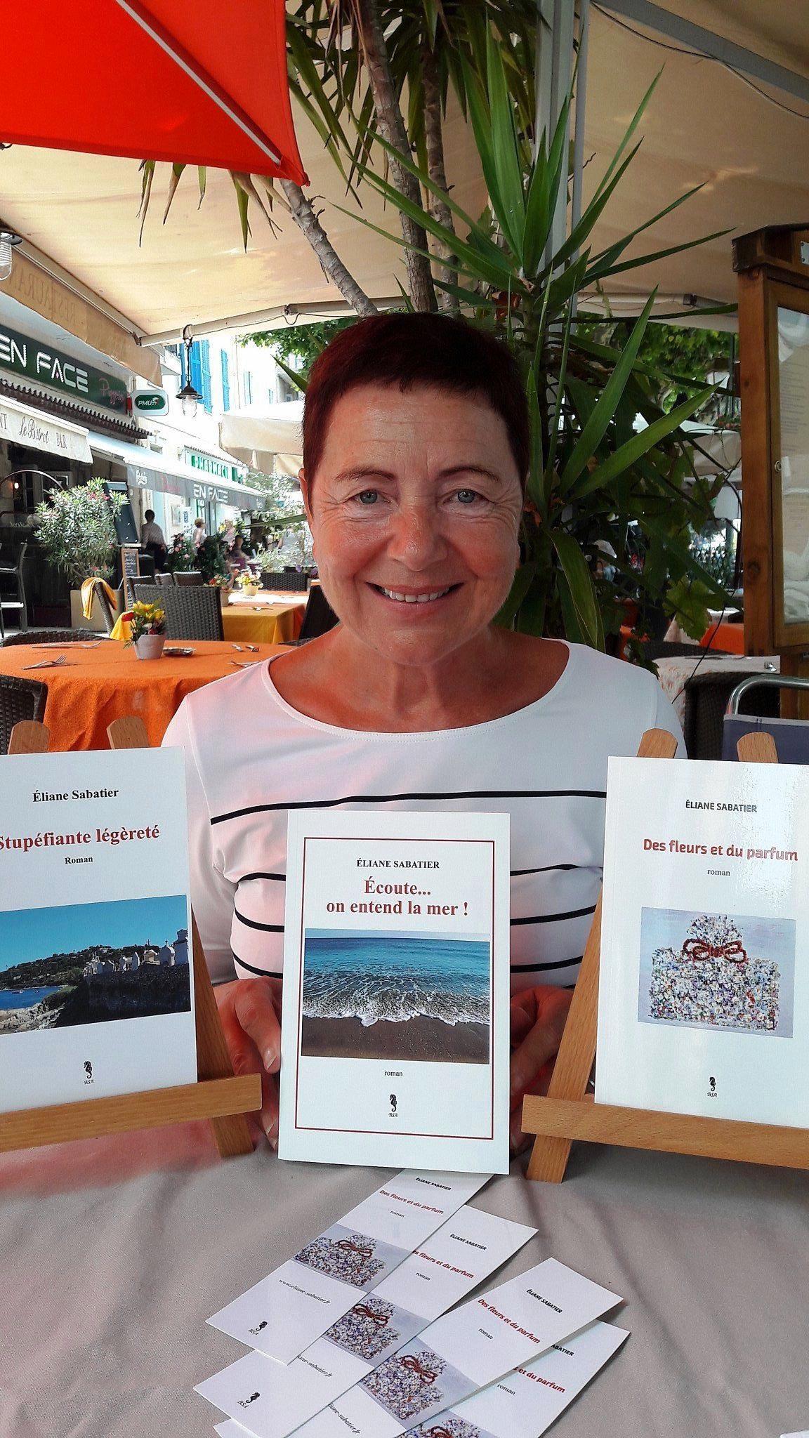Cinq ans que la Raphaëloise Éliane Sabatier écrit et elle a déjà trois romans à son actif.