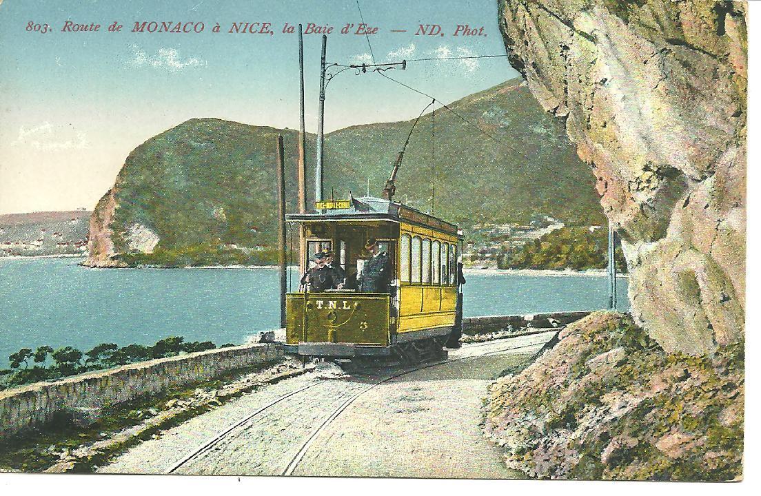 La ligne de tramway du TNL Nice-Monaco à Eze