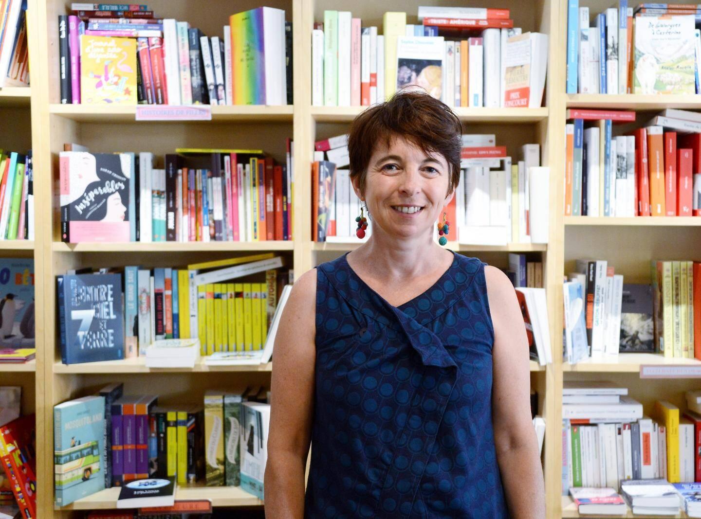 Caroline, la libraire, profite des retombées du Vesubia Mountain Park