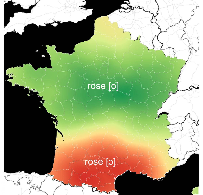 Prononciation du mot rose en France