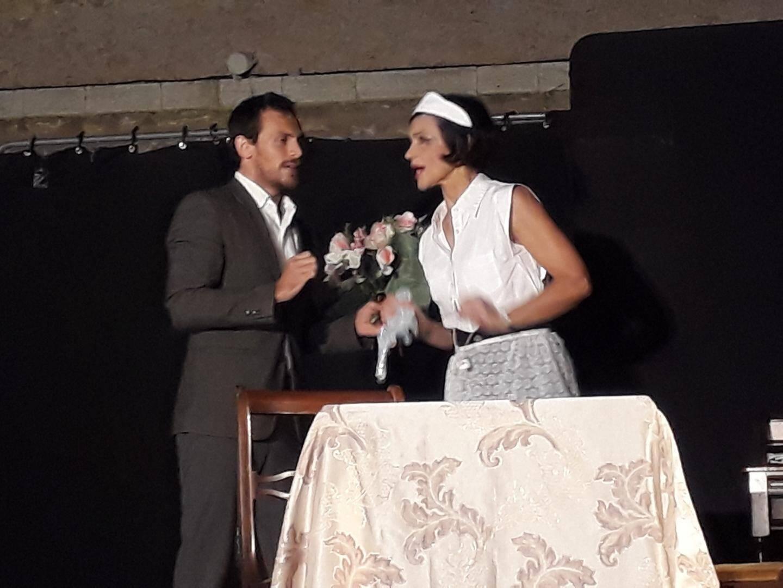 Le public s'est esclaffé avec les six comédiens du Théâtre du cours de Nice qui interprétaient « Oscar»