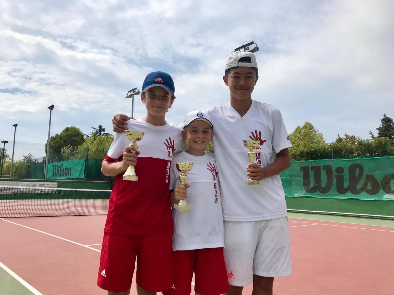 Karim, Lucas et Phi-Ung au top à Montaleigne.