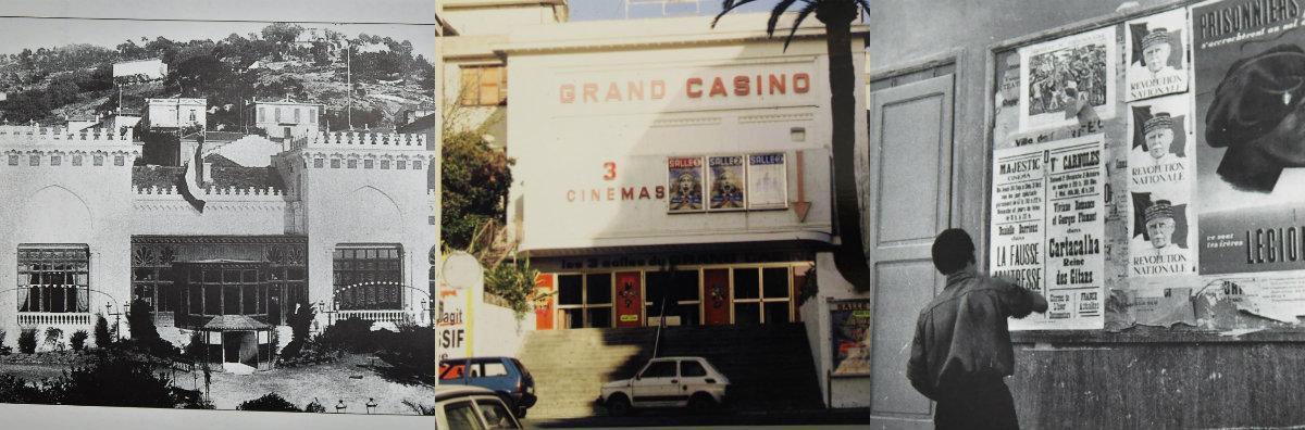 Le Grand Casino Villarey – créé dans le dernier quart du XIXesiècle – était installé sur les hauteurs de la rue du même nom. Dans les années 1920, opérettes et soirées de music-hall y ont été organisées parallèlement aux séances de cinéma. Dans les années 1930, encore, l'on profite de l'entracte pour danser quelques minutes sur le dancing avant la reprise du film. Jusqu'aux années 1980, ce cinéma restera l'un des plus importants de Menton avec ses 900 places assises. Face à la baisse de fréquentation, il sera néanmoins contraint de fermer ses portes en 1985.