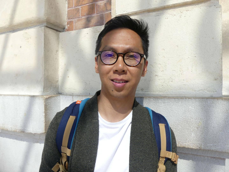 Bui Ten-Trung, 23 ans, vietnamien étudiant en commerce à Lyon.