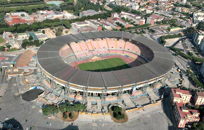 Le stade San Paolo.