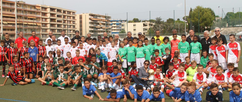 Les équipes participantes au tournoi.
