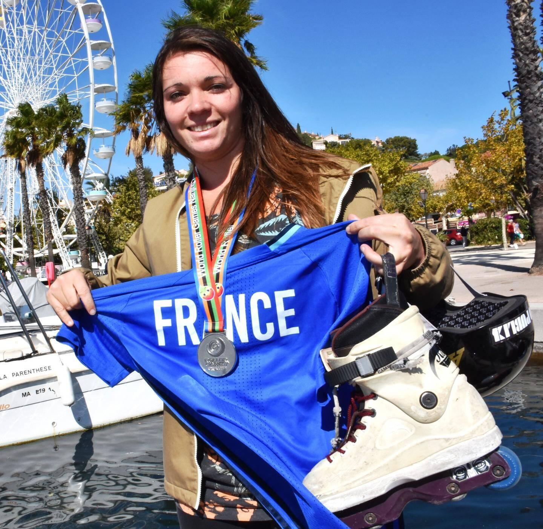 Amandine Condroyer n'a que 26 ans et un palmarès déjà impressionnant avec l'équipe de France.