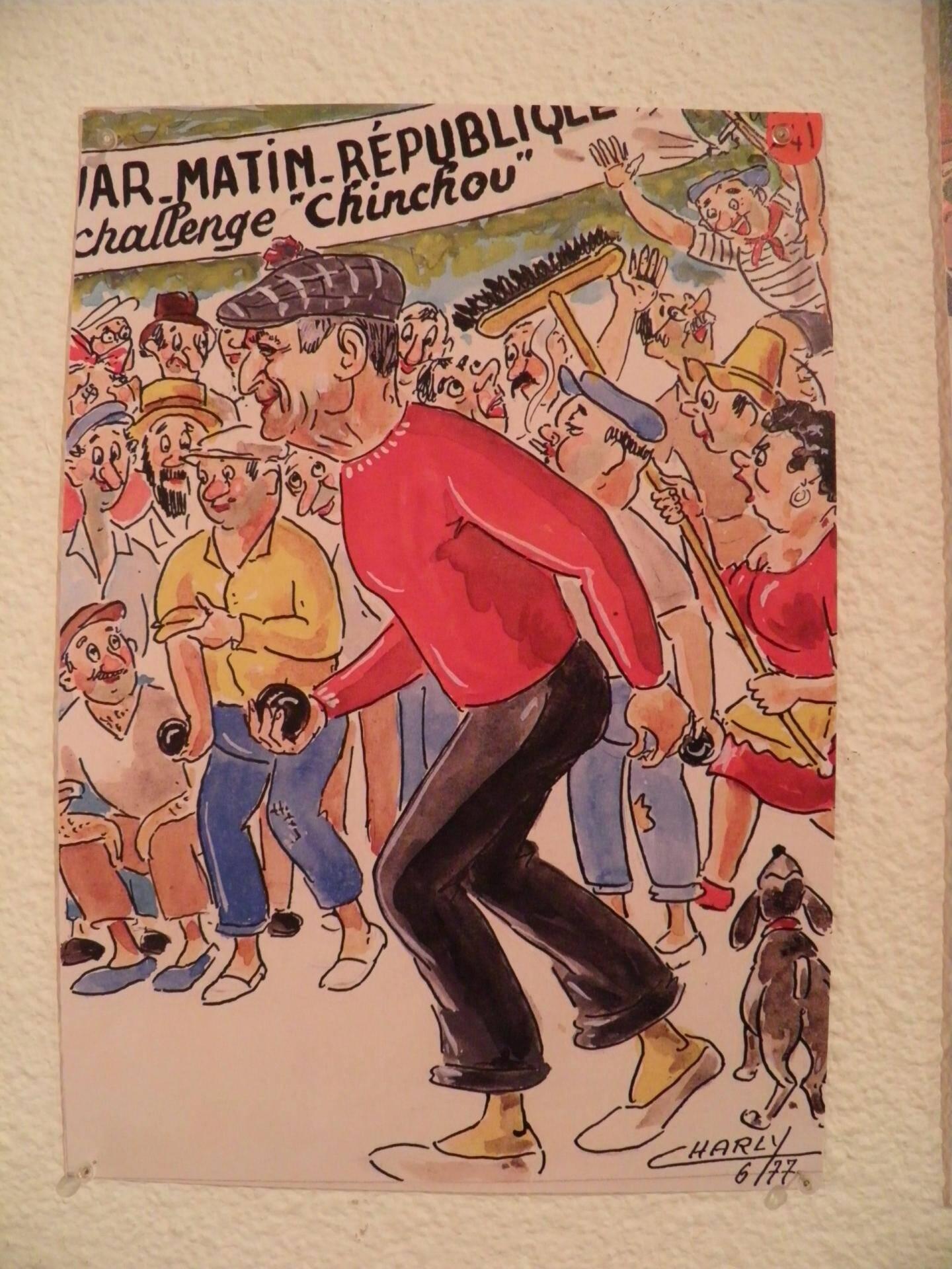 Charly a aussi été dessinateur pour Var-matin.