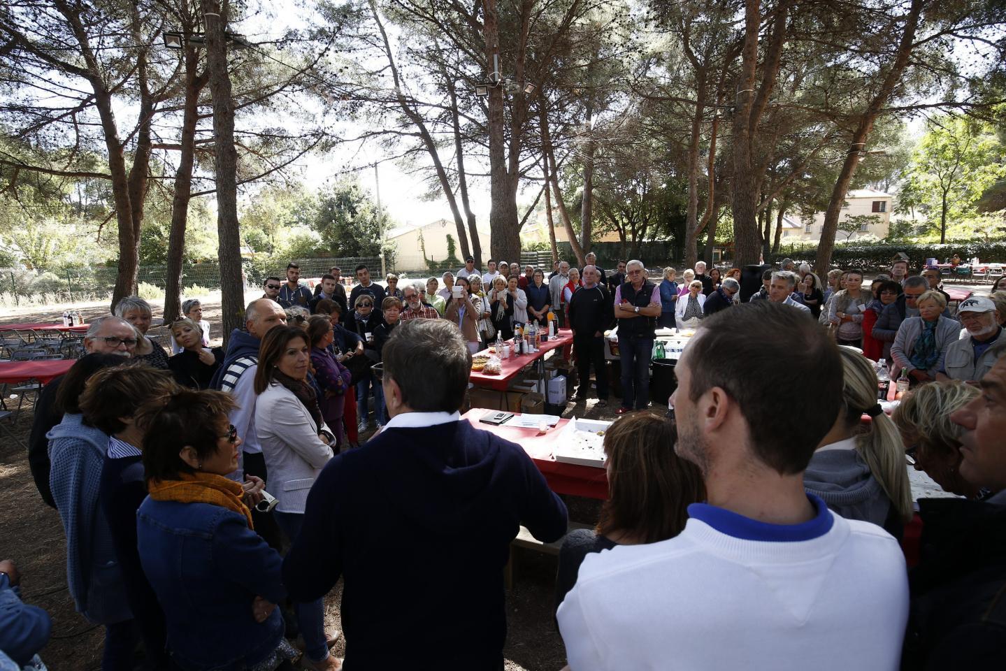 Des élus de toutes les communes de la circonscription étaient au rendez-vous.