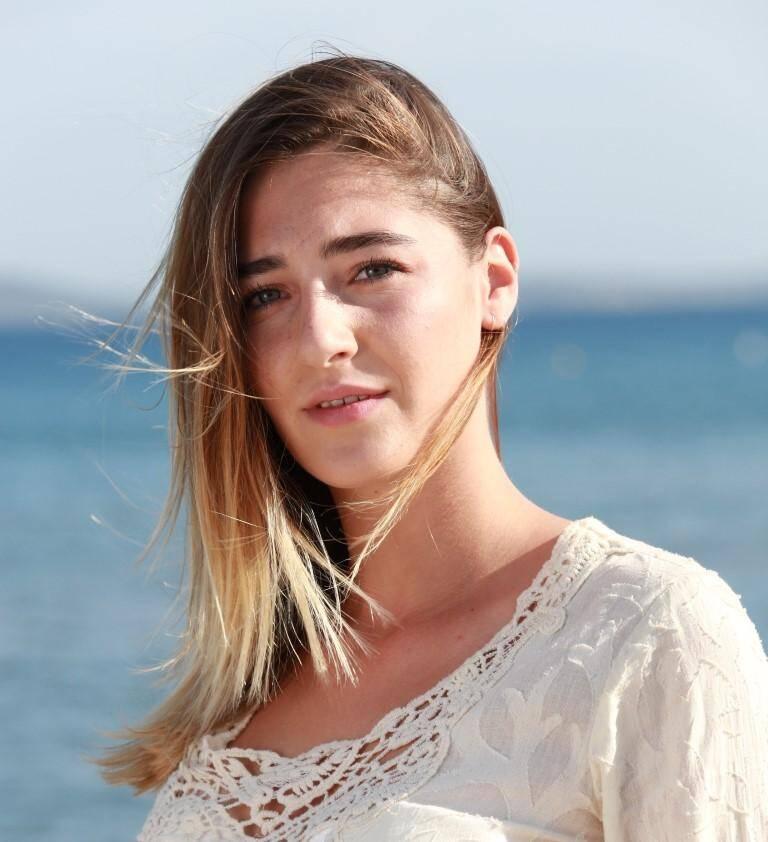 Mélinda Smaini, 17 ans, d'Hyères.