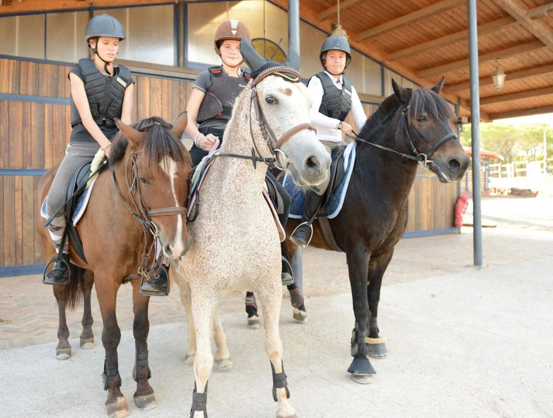 Andréa, Océane et Morgane, prêtes pour une reprise.
