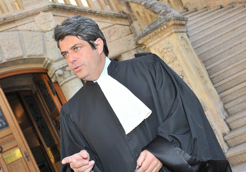 Franck Michel, avocat de la défense d'Yves Bouvier.