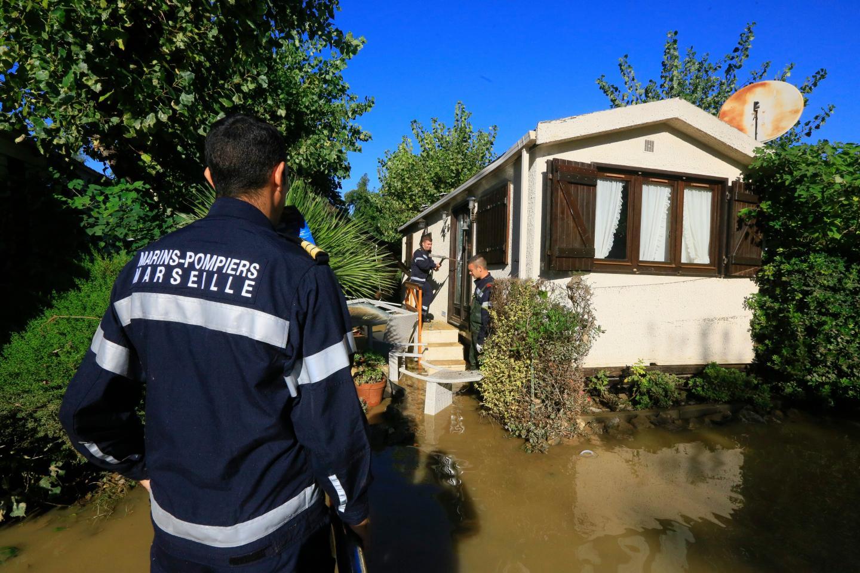 A Biot, l'alerte avait été donnée trop tard pour permettre aux gens de prendre les devants pour limiter les dégâts.