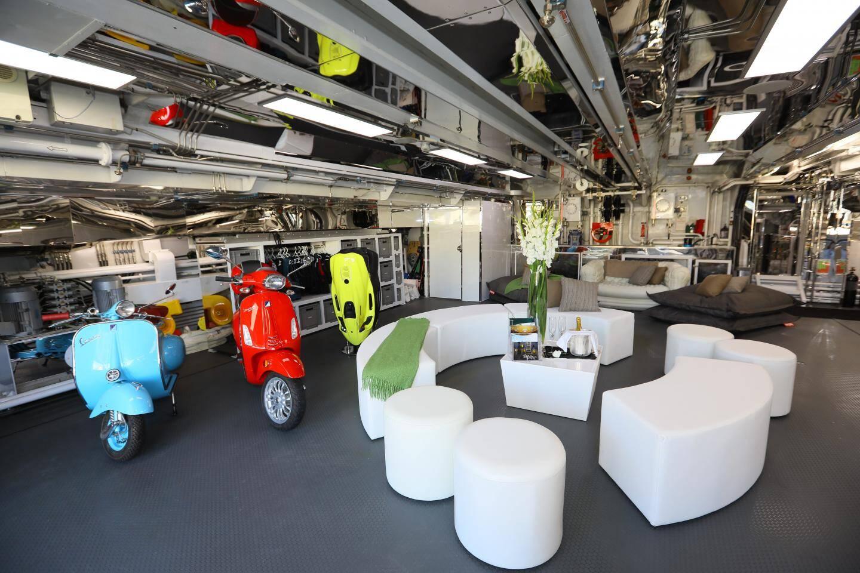Garage ou salon?