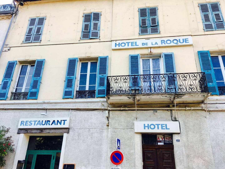 L'hôtel de la Roque en vente... depuis un certain temps