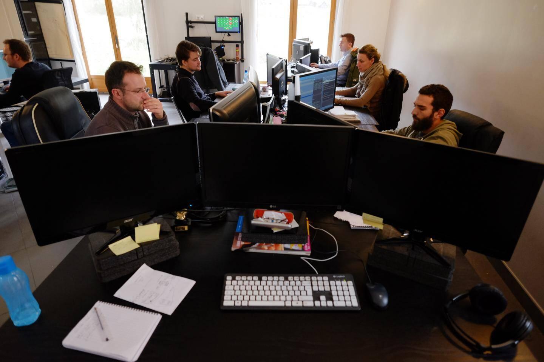 La société Eukles compte 31 salariés, dont une douzaine de développeurs.