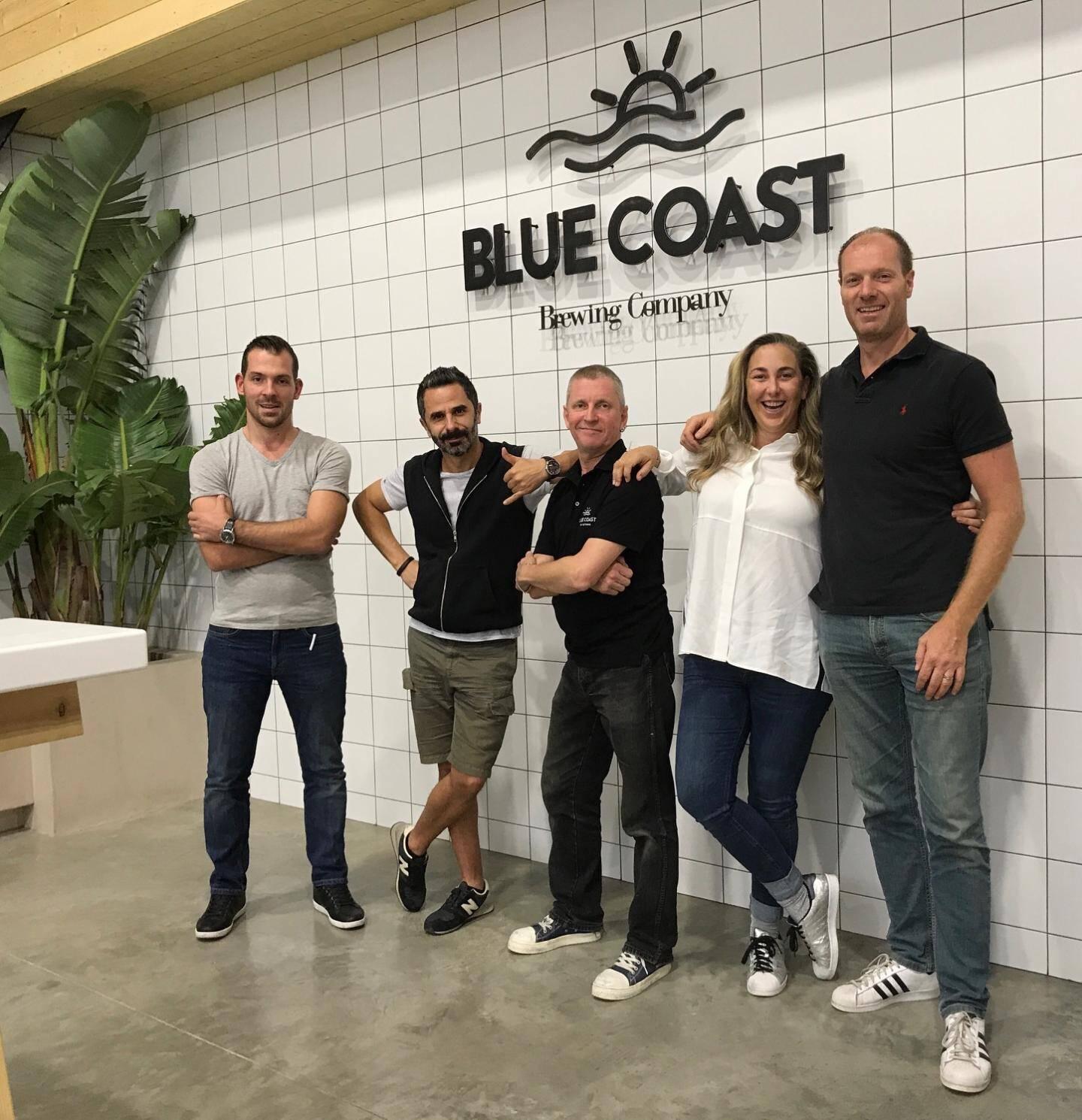 L'équipe de Blue Coast entend miser sur une tendance mondiale du retour à la bière artisanale, qui démarre fort en France.(DR)