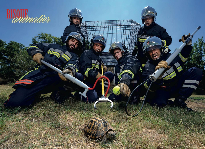 Attention défi : les sapeurs-pompiers nous feront-ils autant rire que l'année dernière avec leurs photos ?
