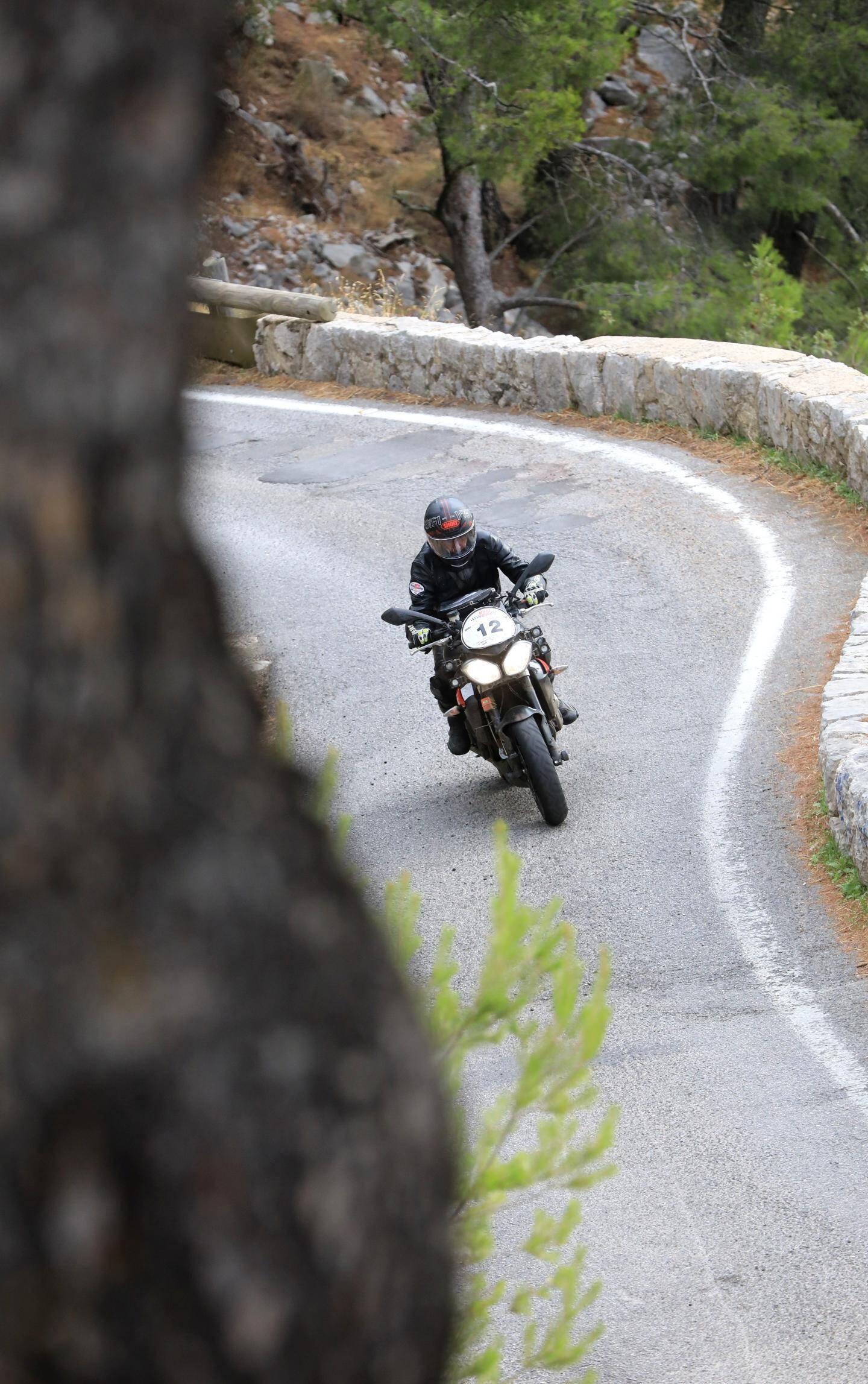 Le Moto tour au Faron, toujours du beau et du bon.