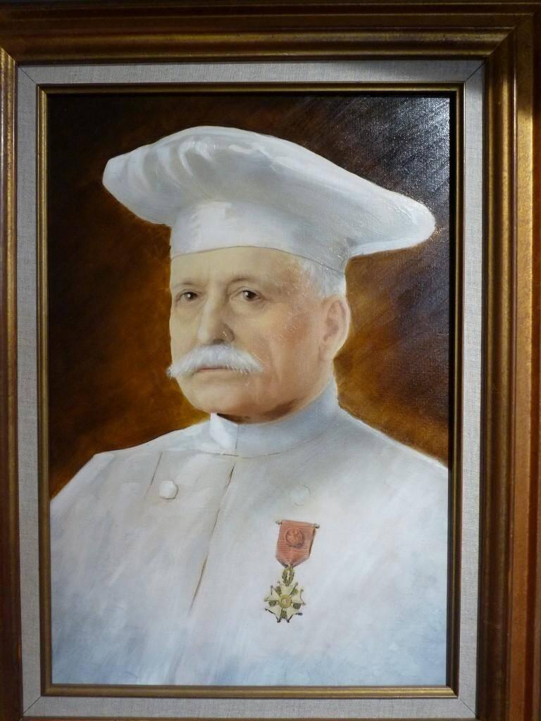 Auguste Escoffier a été le premier cuisinier à être distingué de la Légion, d'honneur.