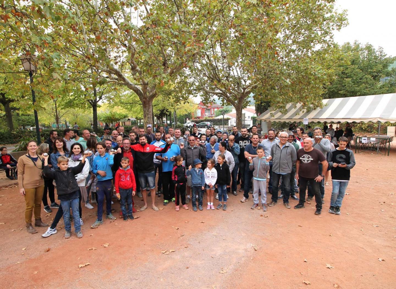 Le concours de pétanque mis sur pied par la Boule taradéenne a connu un franc succès de participation et d'ambiance.