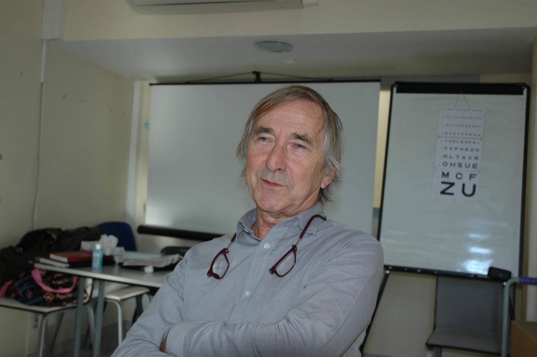 Le professeur en ophtalmologie, Pierre Gastaud, a assuré les consultations.