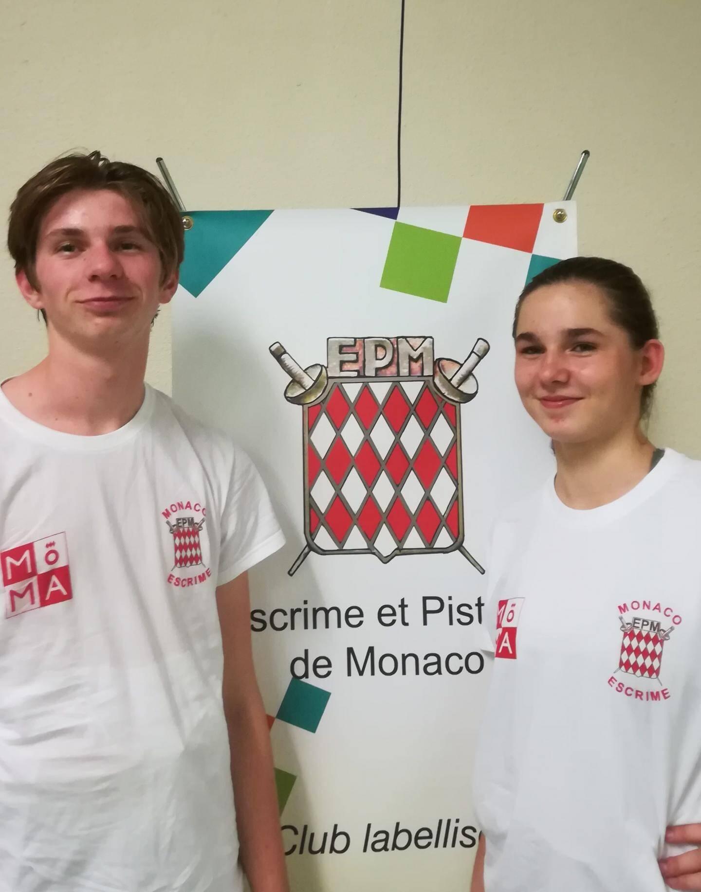 Solal Roussel et Lola Bardel ont démontré leur motivation et leur enthousiasme.(DR)