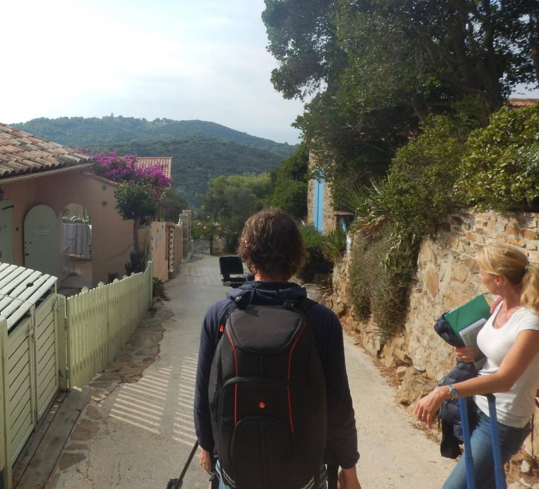 Prises de vue d'Arte sur la corniche de l'Arbousier.