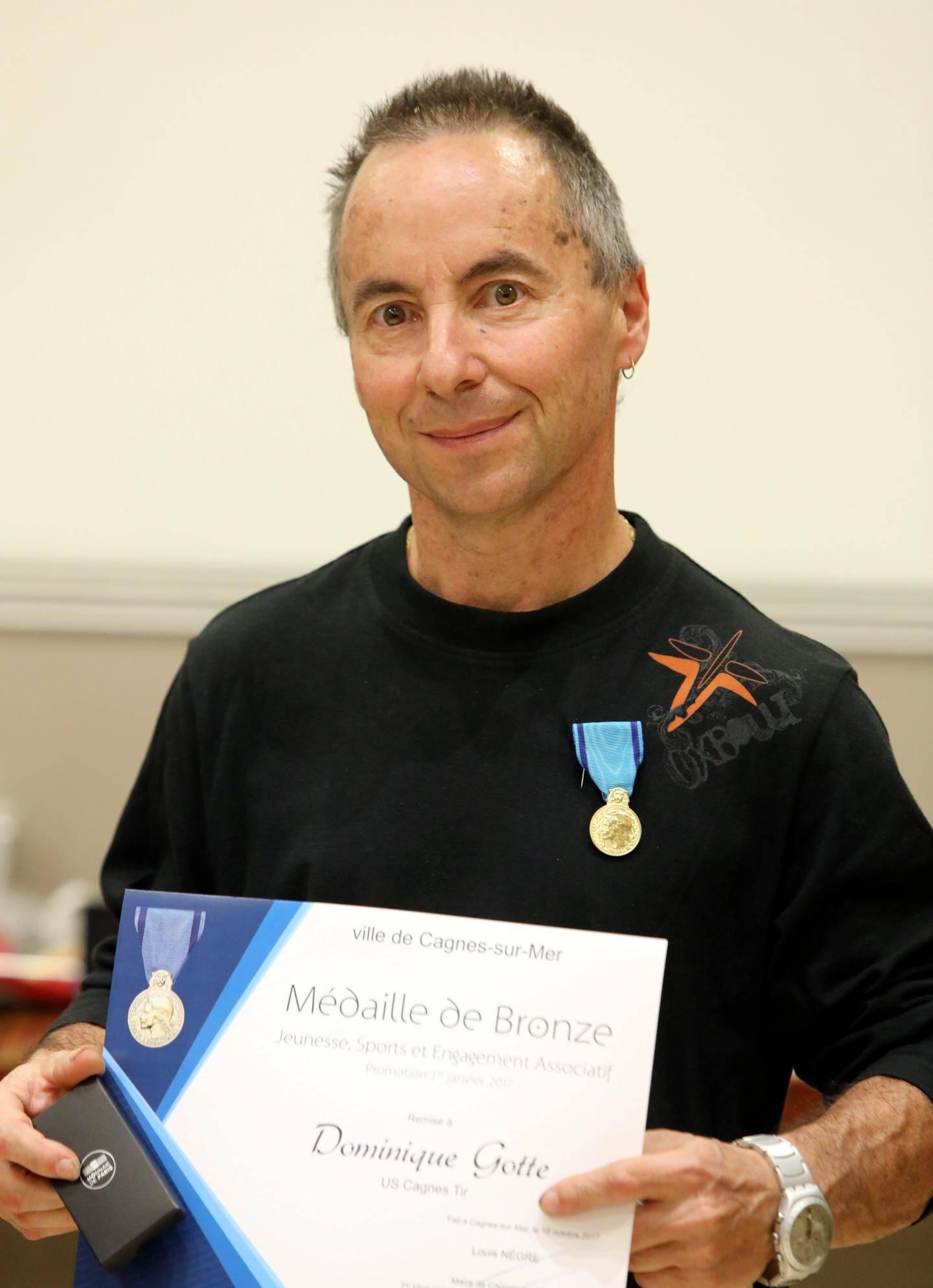 Dominique Gotté, USC Tir : bronze