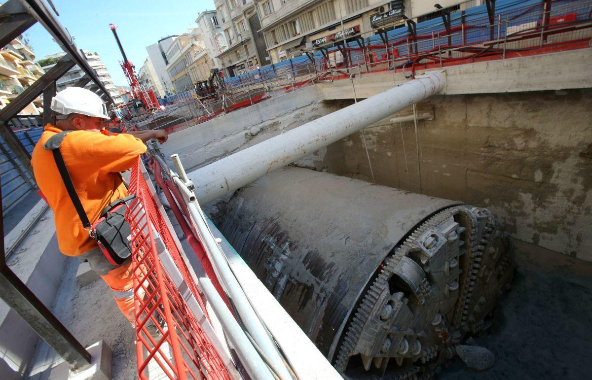 Le démontage du tunnelier va prendre plusieurs mois.