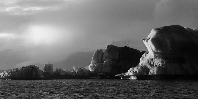 Icebergs dans l'objectif du Levenois.