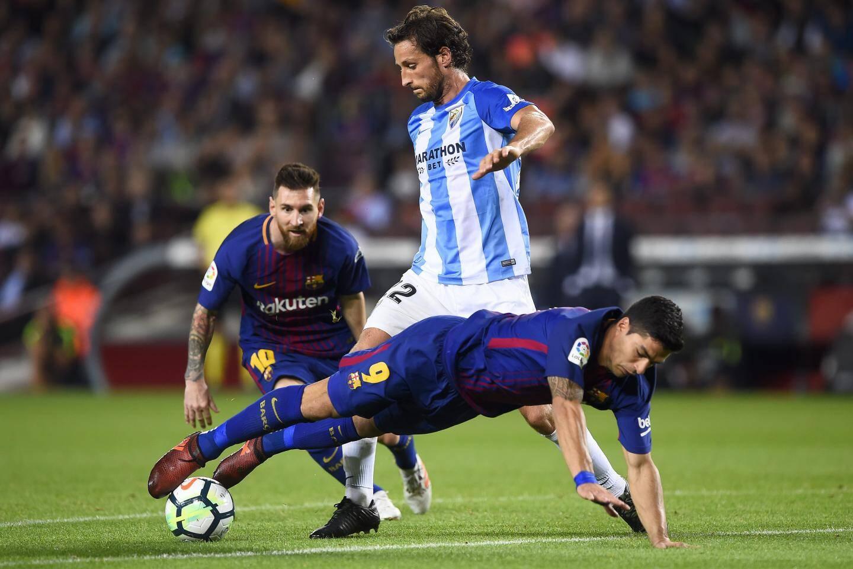 Paul Baysse contre le FC Barcelone de Messi et Luis Suarez.