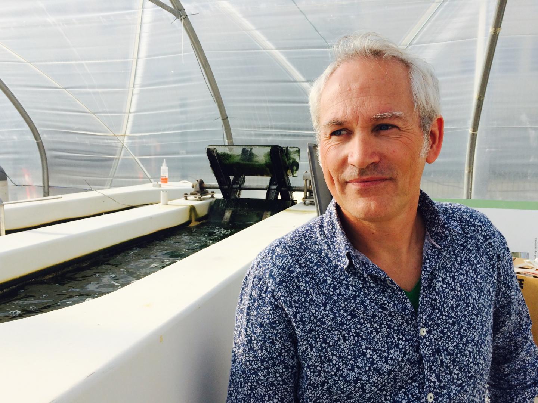 Olivier Bernard directeur de recherche Inria, a piloté un projet pionnier sur les biocarburants à partir de microalgues.