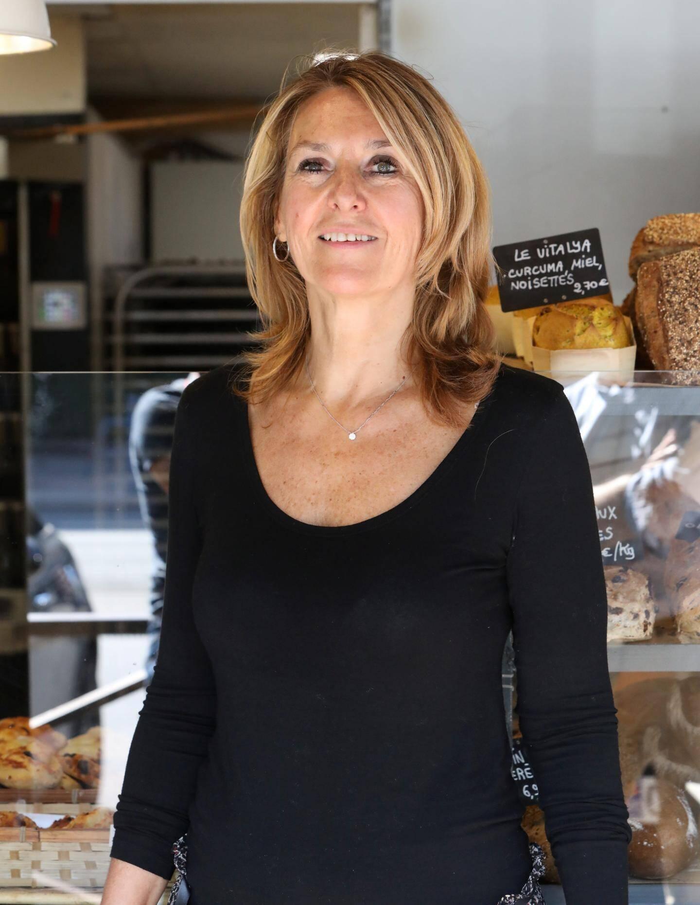 Gisèle Noto des boulangeries Moulin de Flor aime relever les défis