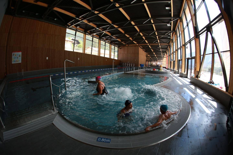 La piscine du parc de Saint-Martin-Vésubie