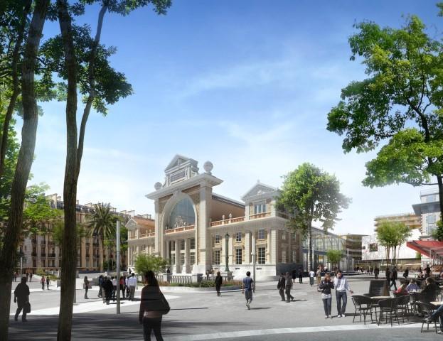 La future gare du Sud.