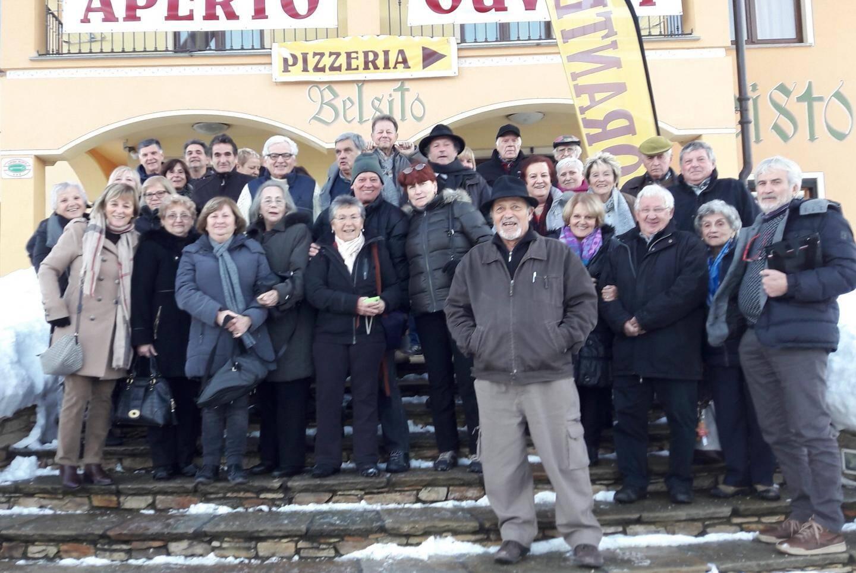 Les aînés brigasques ont découvert la fête de l'escargot à Borgo San Dalmazzo.(DR)