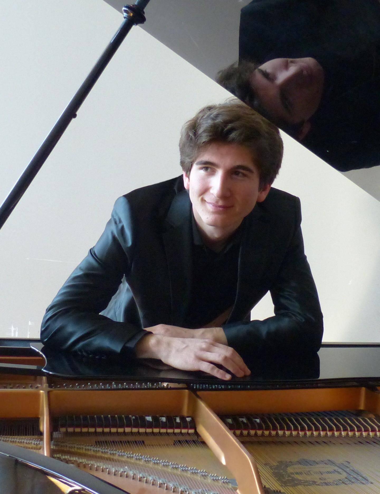 Léo Pensel, pianiste.(DR)