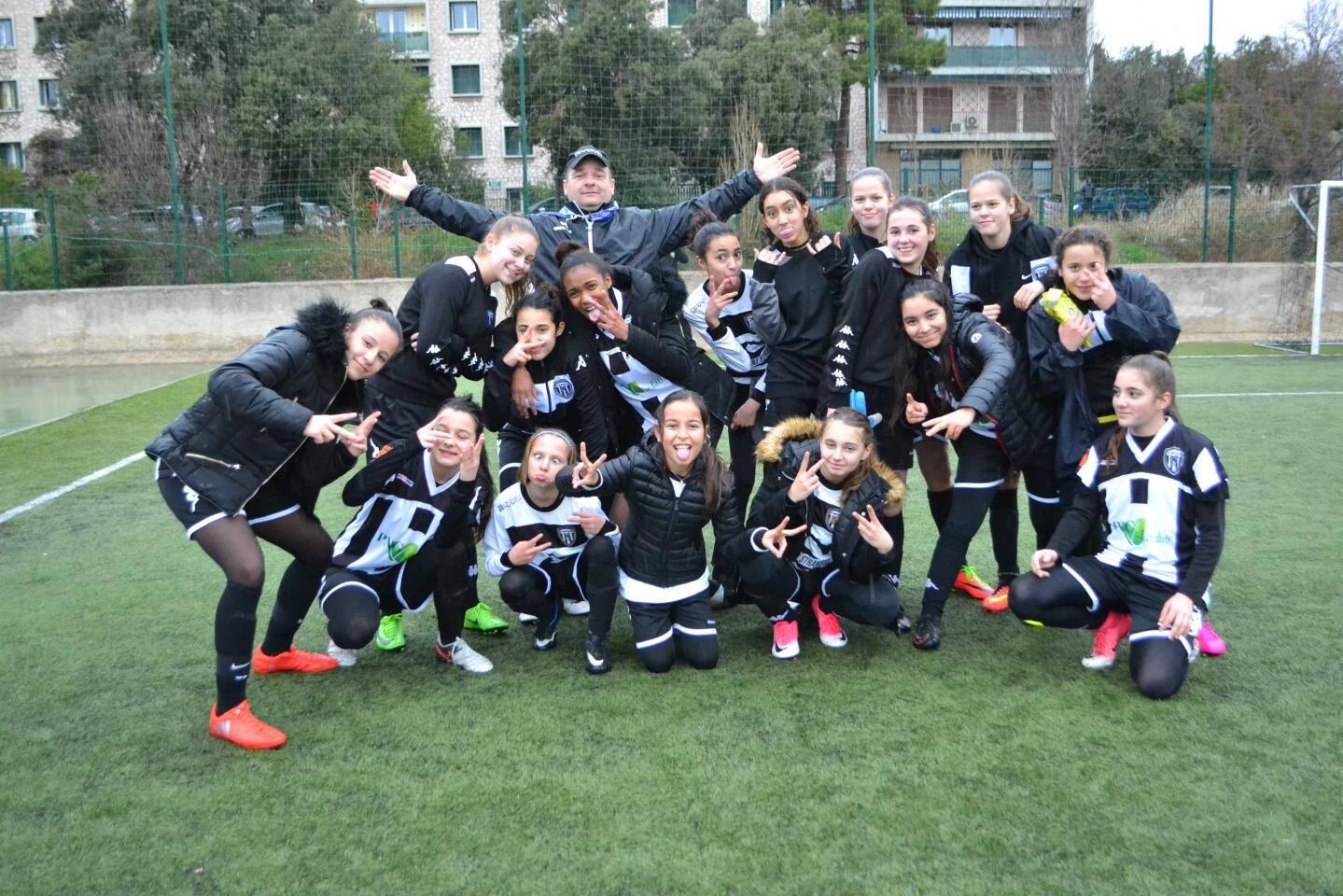Les U15-U17 finalistes du tournoi Défi Coupe.(PhotoDR)