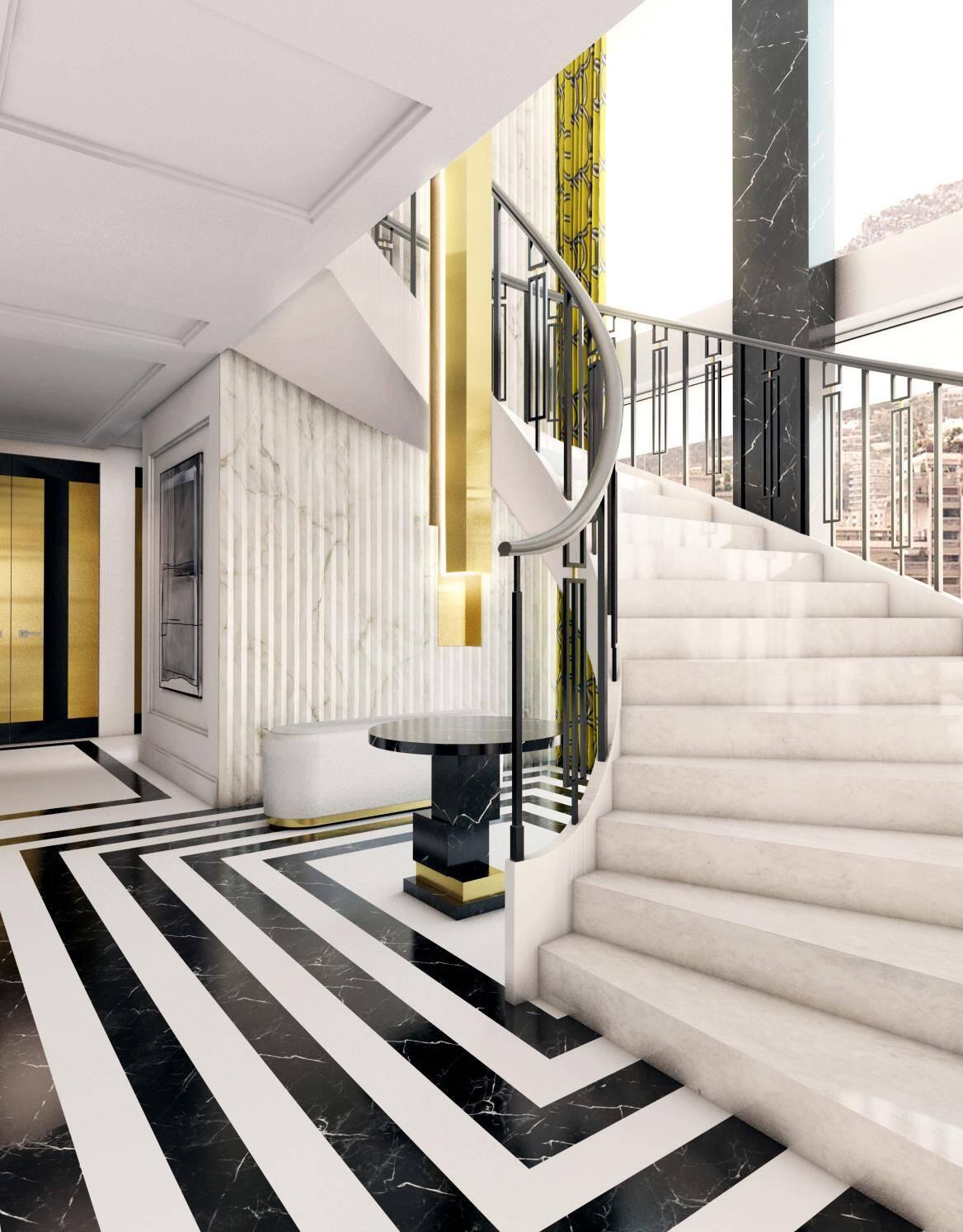Au 17e étage de l'immeuble, le penthouse sera positionné comme un des plus beaux appartements du pays.