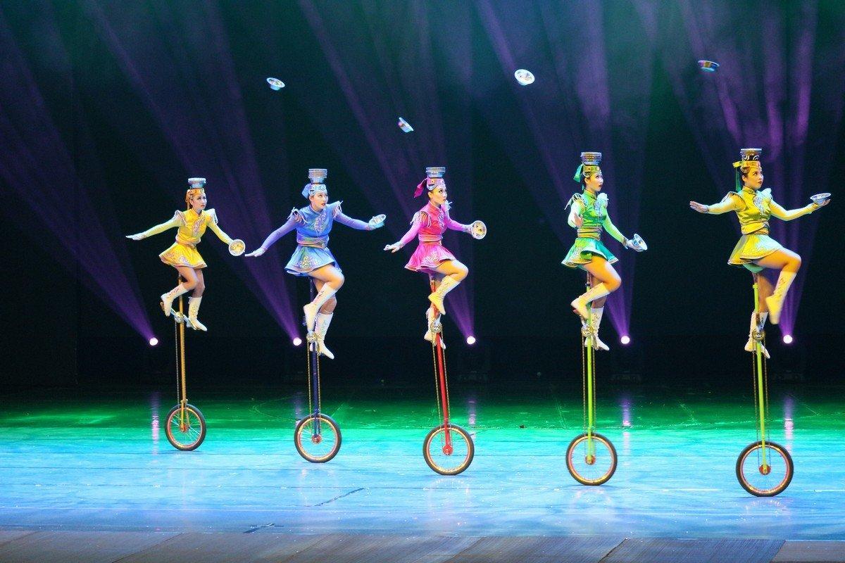 Les artistes du Cirque de Monte-Carlo