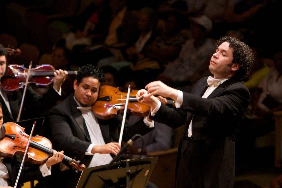 L'orchestre philharmonique de Vienne.
