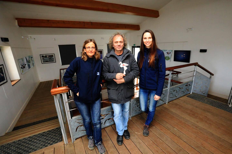 L'exposition est organisée avec le soutien de la LPO (Elise Cougnenc, Sarah Bagnis) et de TPM (Marc Simo).