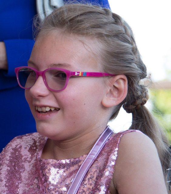 La jeune fille est soutenue par l'association toulonnaise Le Sourire de Lucie.