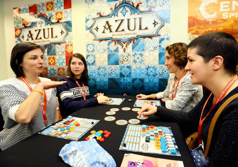 Azul est un jeu de construction et de stratégie
