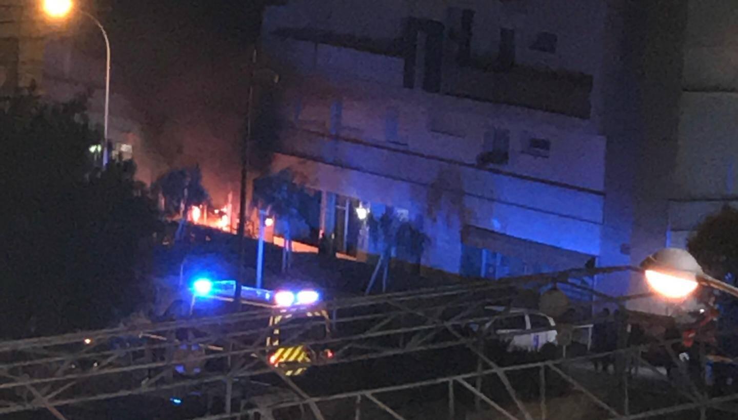 L'explosion a retenti peu après 4h jeudi matin.
